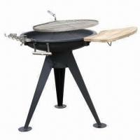 China Outdoor charcoal barbecue grill, made of stainless steel wholesale