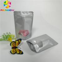 China Mini Aluminum Foil Pouch Packaging Stand Up Ziplock Recyclable Candy Sugar Applied wholesale