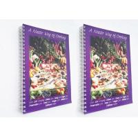 China Spiral Binding Paperback Softcover Book Printing 40gsm - 350gsm Paper Weight wholesale