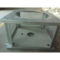 China Communication Device Cabinet Sheet Metal Enclosure Fabrication Steel Material on sale