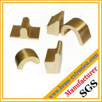 China OEM manufacturer Brass sanitary parts extrusion profile for bathroom on sale