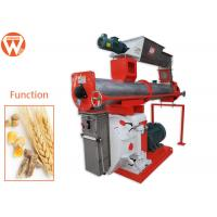 China Optimized Ring Die Feed Pellet Machine 304 Stainless Steel Conditioner For Poultry Farms wholesale