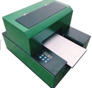 China Flatbed A3 DX5 1390 Desktop Uv Flatbed Printer , Mug Ceramic Digital Printing Machine wholesale
