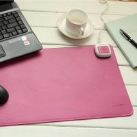China Diy Pretty Decorative Custom Desk Pad For Home Or School , Pink And Green wholesale