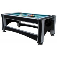China Deluxe 7FT  Multi Function Game Table Flip 3 In 1 Game Table  Billiards For Club wholesale