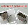 China Electrophoresis Wooden Colour Aluminum Window Frame Profile Corrosion Resistance wholesale