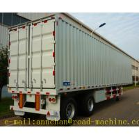 China SHMC 18M SHMC 3 AXLE LORRY CONTAINER TRAILER Can load 15 - 70T Q235 Steels Material With Strong Frame wholesale