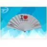 China Подгонянный пластиковый складывая вентилятор с тканью, определяет размер вентиляторы 23км ручные складывая wholesale