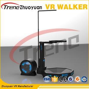 China Black 800 Watt 9D Virtual Reality Treadmill / Shooting Battle Games wholesale