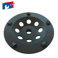 China Welded Diamond Grinding Wheel with Cup Shaped for Marble Concrete wholesale