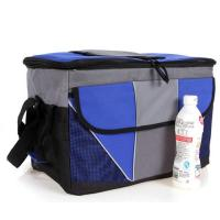 China Disposable Blue Cooler Insulated picnic bag Lunch Bags OEM / ODM For Men wholesale