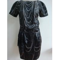 China Ladies Printed Poly Stain Dress (RD-01) wholesale