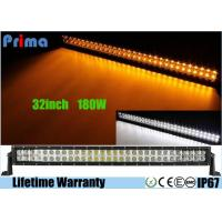 China 32 inch Led Truck Light Bar Wireless Remote Control 180W Super Cool Yellow White wholesale