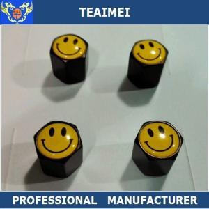 China Emblem Custom Tire Valve Stem Caps Car Alloy Wheel Center Logo Inner Tube wholesale