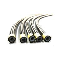 China DN6 Steel AISI 304 Smooth PTFE Braided Hose , Teflon Hose For Automobiles on sale