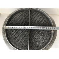 China Chemical Industry Wire Mesh Demister Pad High Mechanical Damping Characteristics on sale