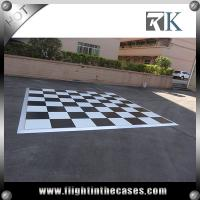 China wholesale party supplies acrylic wooden dance floor pvc flooring for dancing wholesale