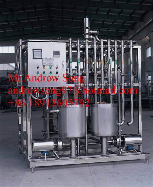 Mini Dairy Processing Plant : Uht milk processing plant images