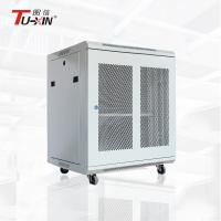 China Adjustable Feet Wall Mount Server Rack Cabinet , 19 Inch 15U Small Network Rack wholesale