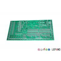 Buy cheap HASL Surface Treatment PCB Circuit Board Green Solder Mask 1.6 Mm Thickness from wholesalers