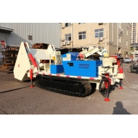 Buy cheap dedusting Self Loading Shotcrete Trolley aggregate sand spraying machine with from wholesalers