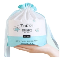 China 100% Cotton Tissue Paper Beauty Using Soft thin 100% Cotton Paper  towels face cloth 100% cotton wholesale