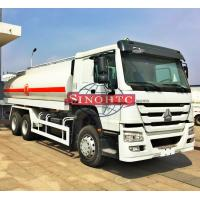 China 6X4 Stainless Steel Fuel Transport Trucks , 20000 - 25000 Liter Gasoline Tanker Truck on sale