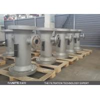 China CE PTFE lining Static inline mixer for corrosive liquid mixing wholesale