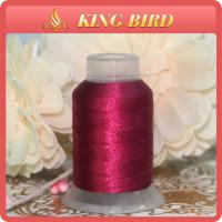 China DMC Dyed Machine Embroidery Thread Red Polyester For Decorative wholesale