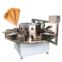 China Automatic Commercial Ice Cream Wafer Cone Making Machine on sale