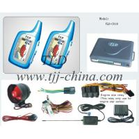 China Fit For All Car 12V Two Way Car Alarm System HL-C018 With Two LCD Remoter 1000 Meter With Engine Start Vibration wholesale