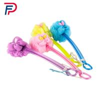 China SJB1-2(40) Factory directly beautiful body cleaning plastic bath brush with long handle wholesale