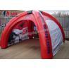 Refugios inflables formados araña de las tiendas de campaña de la tienda inflable del acontecimiento