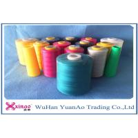 China 100% Spun Polyester Industrial Sewing Machine Thread With 402 Count , OEKO Approval on sale