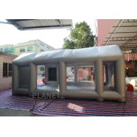China Automatic Car 6mx4mx3m Spray Paint Booths Inflatable Portable spray Booth on sale