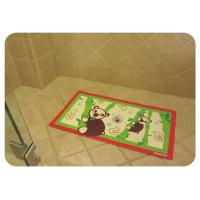 China Healthty Anti Fatigue PVC Anti Slip Bath Mat With Suction Cups , Baby Bathtub Mat wholesale