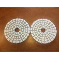 China High Effiective 4'' Dry Polishing Pads With 5 Steps to Polish wholesale