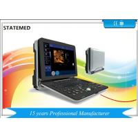 China Windows 7 Portable Color Ultrasound Machine Two Probe Interface 3D 4D Real Time wholesale