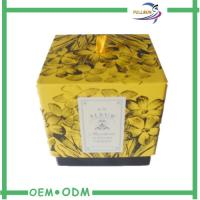 Commercial Packaging Decorative Candle Packaging Boxes With Ribbon