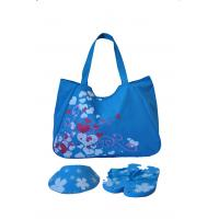 Beach Bag With Slippers And Visor