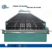 China High Capacity Roofing Roll Forming Machine For Color Sheet Metal Trapezoidal Profile wholesale