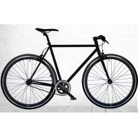 China All Black Fixed Gear Single Speed Bikes Alloy Frame Bicycle With CE Certification wholesale