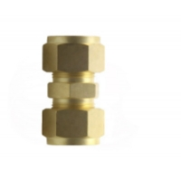 China Brass Double Ferrule Compression Fittings  With Swagelok wholesale