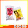 China Bolsos plásticos del espécimen del Biohazard de la cerradura de la cremallera/prenda impermeable vaccínea de los bolsos del transporte wholesale