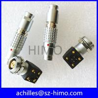 China EXG.1B.302.HLN 2 pin solder pin lemo electronic connector wholesale
