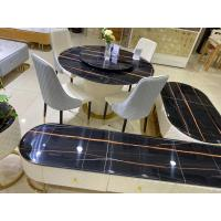 China Hard Granite Desktop Oak Coffee Table Set With Good Thermal Conductivity wholesale