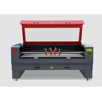 China 4 Head Industrial Small Laser Cutting Machine 120w 800mm/S Carving Without Charred wholesale
