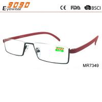 China 2017 NEW fashion style reading glasses ,made of Stainless Steel wholesale