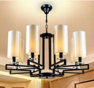 China Hot sale pendant crystal lamp pink lampholder crystal chandelier on sale