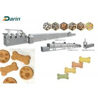 China Automatic Pet Biscuit Making Dog Biscuit Machine Made By Stainless Steel wholesale